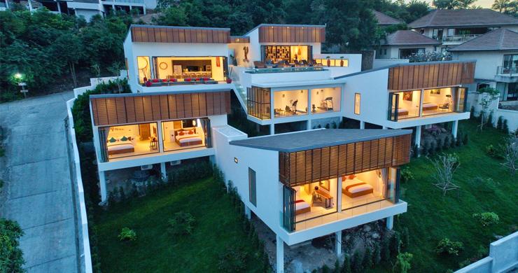 Iconic 6 Bed Luxury Sea view Villa Resort in Bophut-24