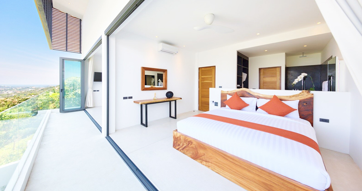 Iconic 6 Bed Luxury Sea view Villa Resort in Bophut-13