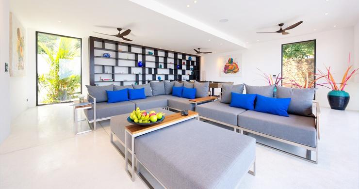 Iconic 6 Bed Luxury Sea view Villa Resort in Bophut-14