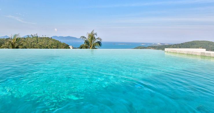 Iconic 6 Bed Luxury Sea view Villa Resort in Bophut-17