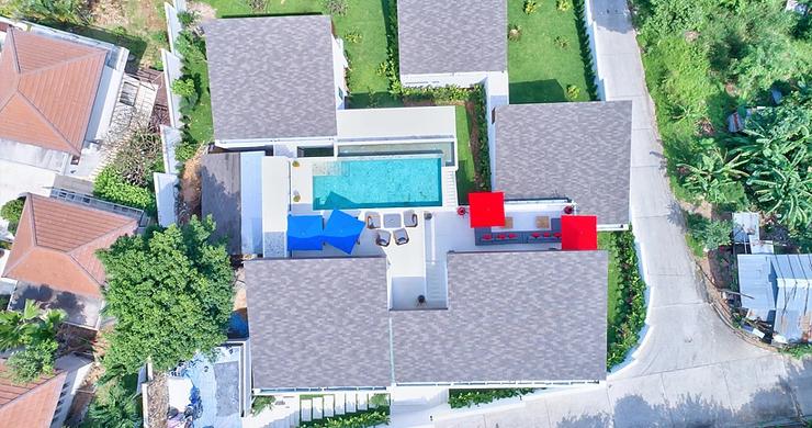 Iconic 6 Bed Luxury Sea view Villa Resort in Bophut-21