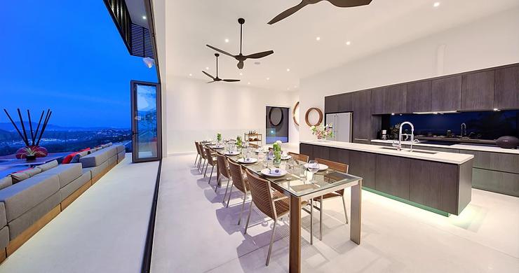 Iconic 6 Bed Luxury Sea view Villa Resort in Bophut-19