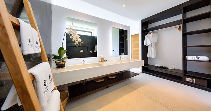 Iconic 6 Bed Luxury Sea view Villa Resort in Bophut-16