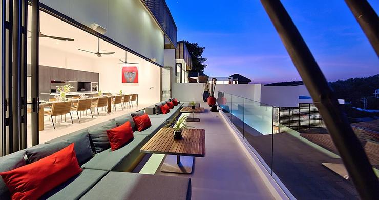 Iconic 6 Bed Luxury Sea view Villa Resort in Bophut-18