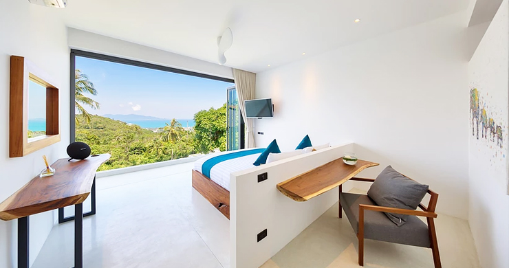 Iconic 6 Bed Luxury Sea view Villa Resort in Bophut-6