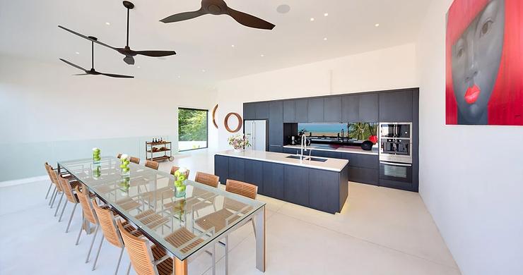 Iconic 6 Bed Luxury Sea view Villa Resort in Bophut-5