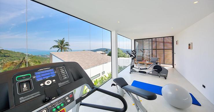 Iconic 6 Bed Luxury Sea view Villa Resort in Bophut-15