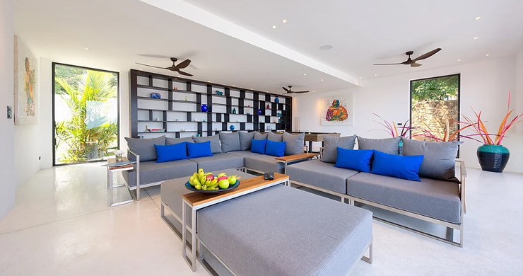 Iconic 6 Bed Luxury Sea view Villa Resort in Bophut-10