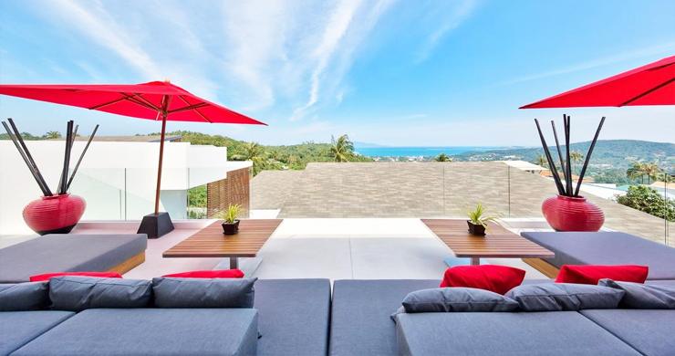 Iconic 6 Bed Luxury Sea view Villa Resort in Bophut-2