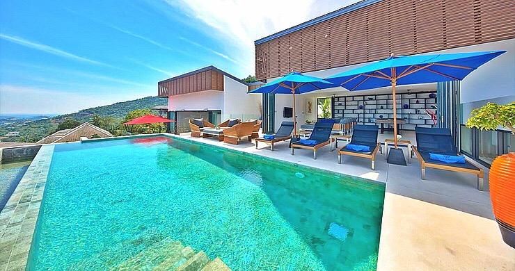 Iconic 6 Bed Luxury Sea view Villa Resort in Bophut-1