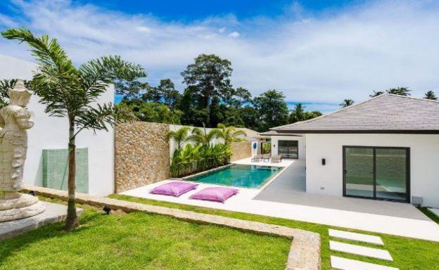 New Luxury 3 Bedroom Bali-style Pool Villas in Maenam