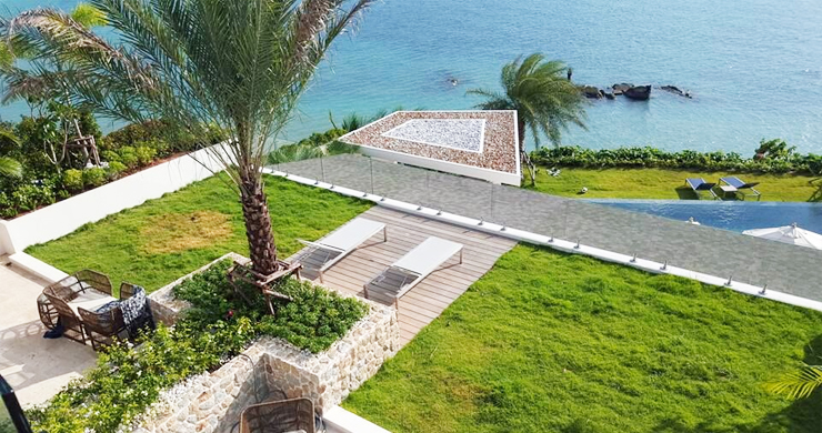 Beautiful 5 Bed Beachfront Luxury Villa in Sunset Cove-9