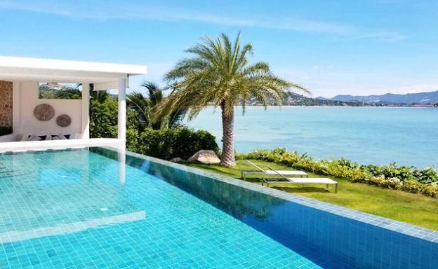 Beautiful 5 Bed Beachfront Luxury Villa in Sunset Cove