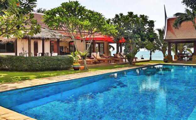 Premium Beachfront 5 Bed Luxury Pool Villa in Bangrak