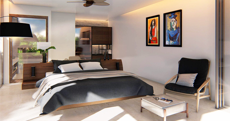 Ultra-Chic 3 Bed Sea view Luxury Villas in Chaweng Noi-5