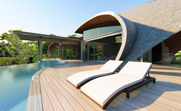 Ultra-Chic 3 Bed Sea view Luxury Villas in Chaweng Noi