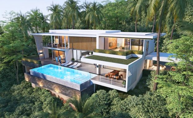Iconic 4 Bed Luxury Sea view Villas in Ban Makham