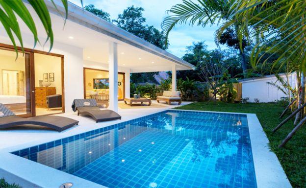 Charming 3 Bed Modern Pool Villa for Sale in Bophut