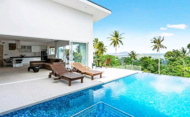 Beautiful 2 Bedroom Sea-view Pool Villas in Lamai