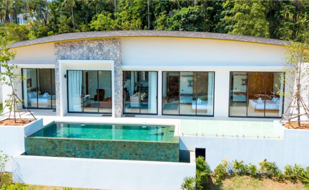 Modern 3 Bedroom Sea View Villas for Sale in Maenam