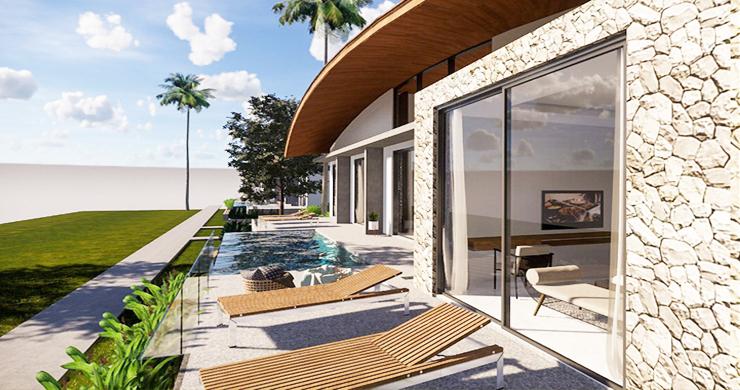 New Modern 3 Bedroom Pool Villas for Sale in Maenam-3