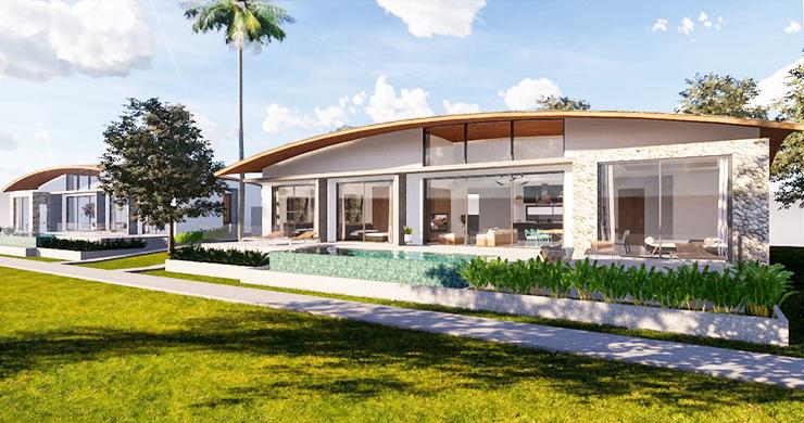 New Modern 3 Bedroom Pool Villas for Sale in Maenam-4