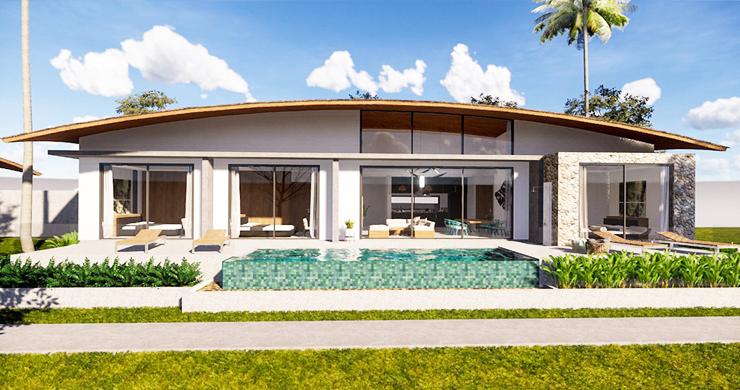 New Modern 3 Bedroom Pool Villas for Sale in Maenam-2