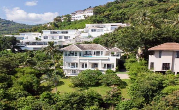 Luxurious Homely 5 Bed Sea View Villa in Bophut Hills