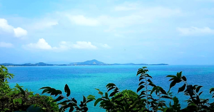 Spectacular Coral Cay Sea view Land on Chaweng Noi-3