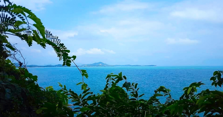 Spectacular Coral Cay Sea view Land on Chaweng Noi-7