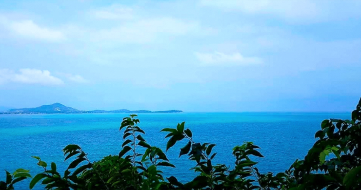 Spectacular Coral Cay Sea view Land on Chaweng Noi-5