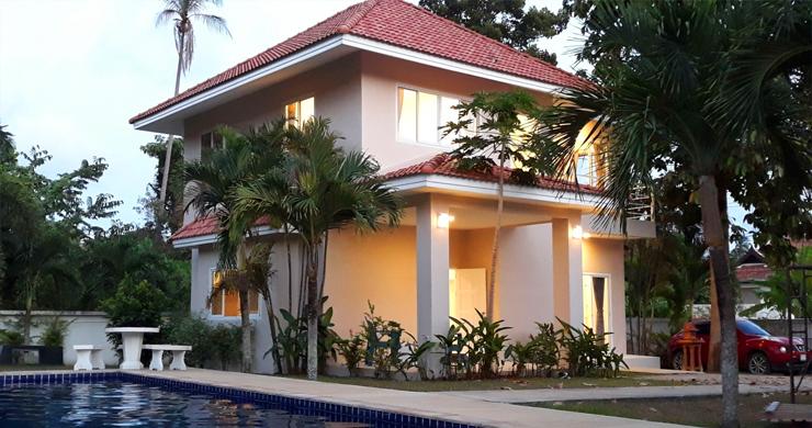Bargain 3 Bedroom Modern Villa for sale in Laem Sor-1