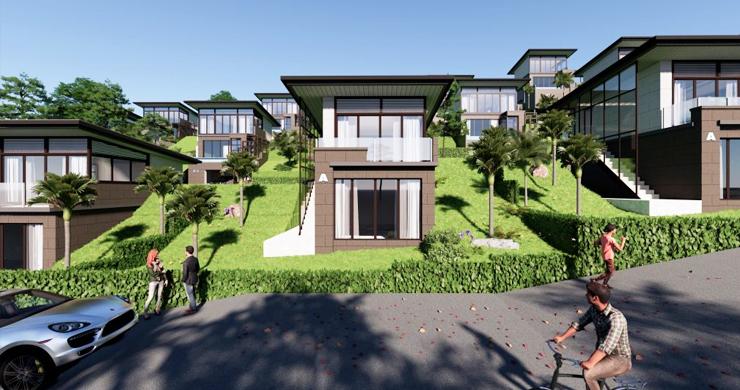 Modern 1 Bed Luxury Sea View Villas in Chaweng Noi-4