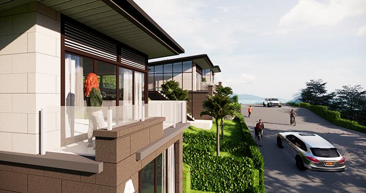 Modern 1 Bed Luxury Sea View Villas in Chaweng Noi-5