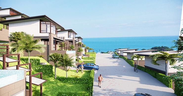 Modern 1 Bed Luxury Sea View Villas in Chaweng Noi-1