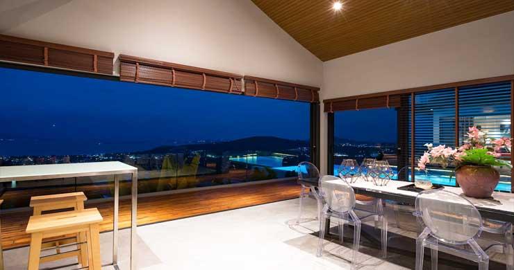 Breathtaking Sea view 4 Bed Luxury Villa on Bophut-25