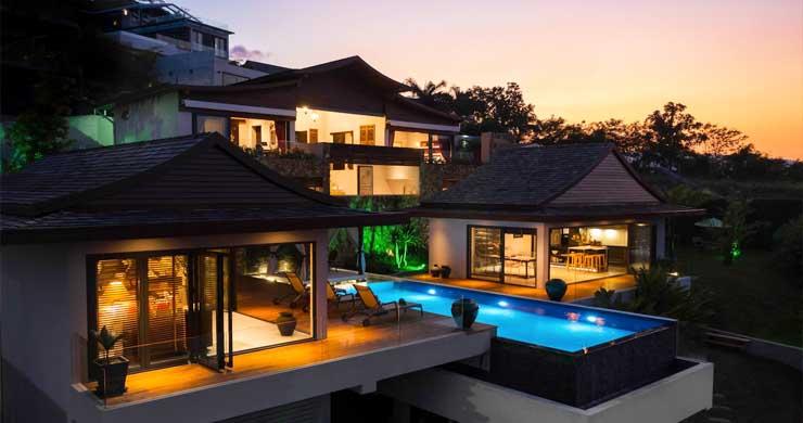 Breathtaking Sea view 4 Bed Luxury Villa on Bophut-27