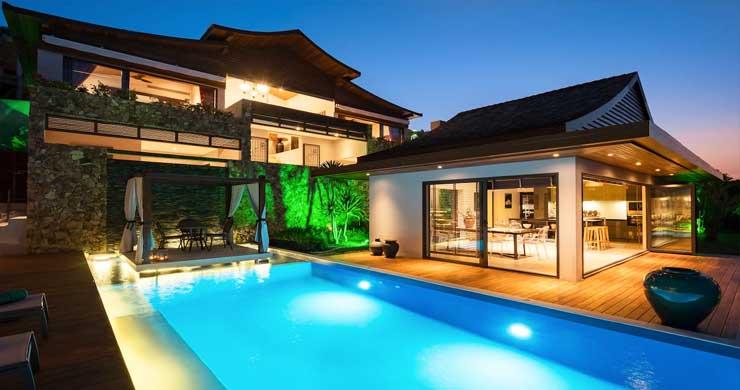 Breathtaking Sea view 4 Bed Luxury Villa on Bophut-23