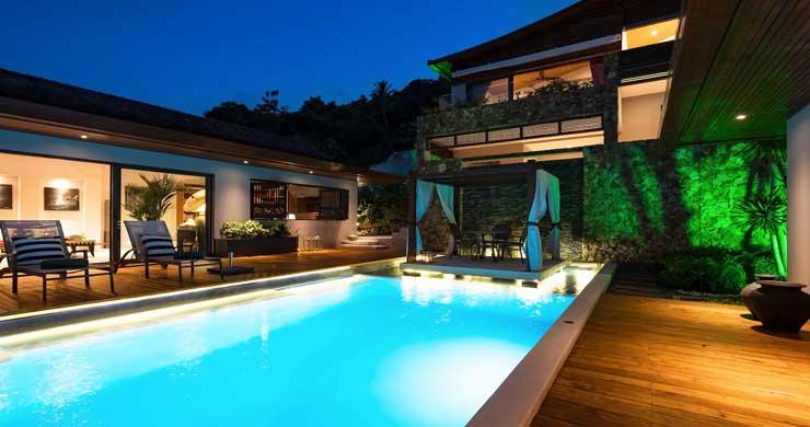 Breathtaking Sea view 4 Bed Luxury Villa on Bophut-26