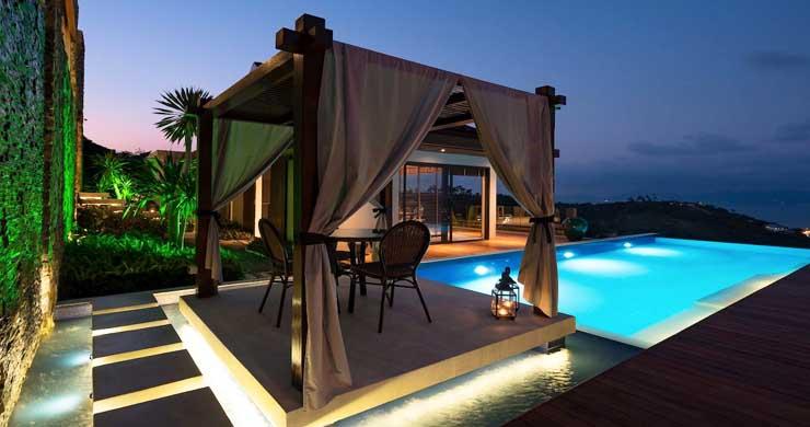 Breathtaking Sea view 4 Bed Luxury Villa on Bophut-24