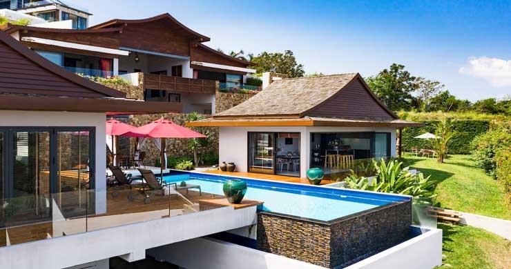 Breathtaking Sea view 4 Bed Luxury Villa on Bophut-14