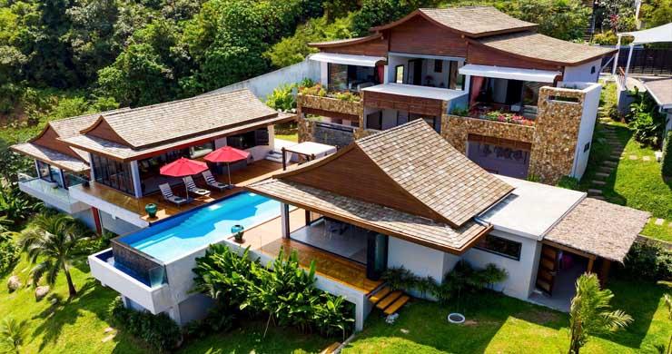 Breathtaking Sea view 4 Bed Luxury Villa on Bophut-1