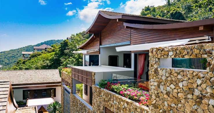 Breathtaking Sea view 4 Bed Luxury Villa on Bophut-21