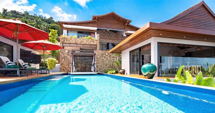 Breathtaking Sea view 4 Bed Luxury Villa on Bophut-2