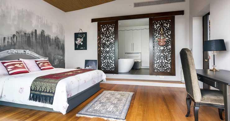 Breathtaking Sea view 4 Bed Luxury Villa on Bophut-6
