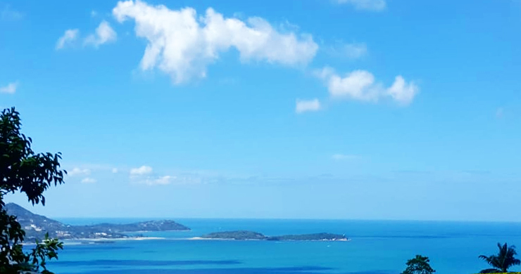 Koh Samui Sea View Land for Sale in Chaweng Noi-2
