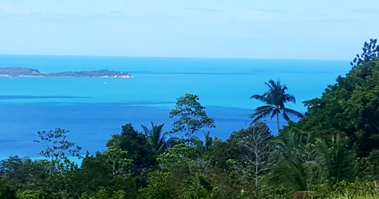 Koh Samui Sea View Land for Sale in Chaweng Noi-3