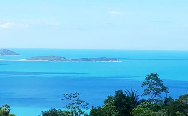 Koh Samui Sea View Land for Sale in Chaweng Noi