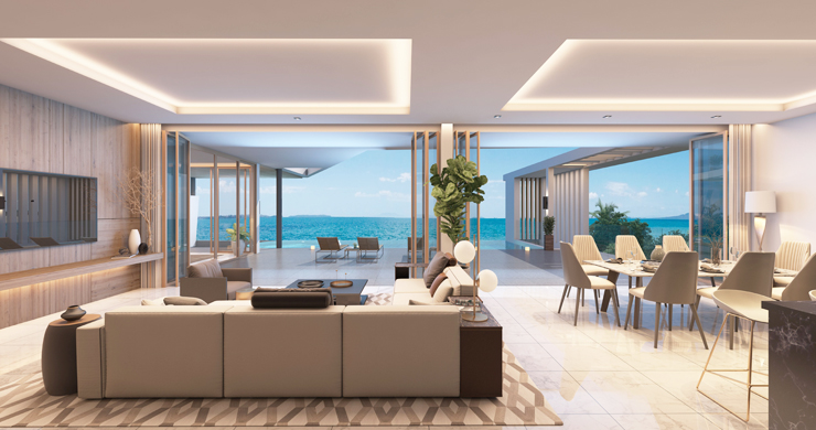 New Ultra Modern Luxury Sea view Villas in Bophut Hills-3