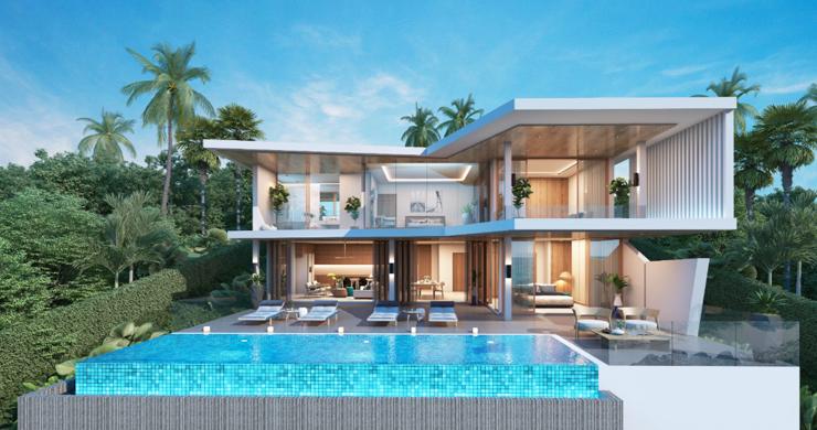 New Ultra Modern Luxury Sea view Villas in Bophut Hills-9